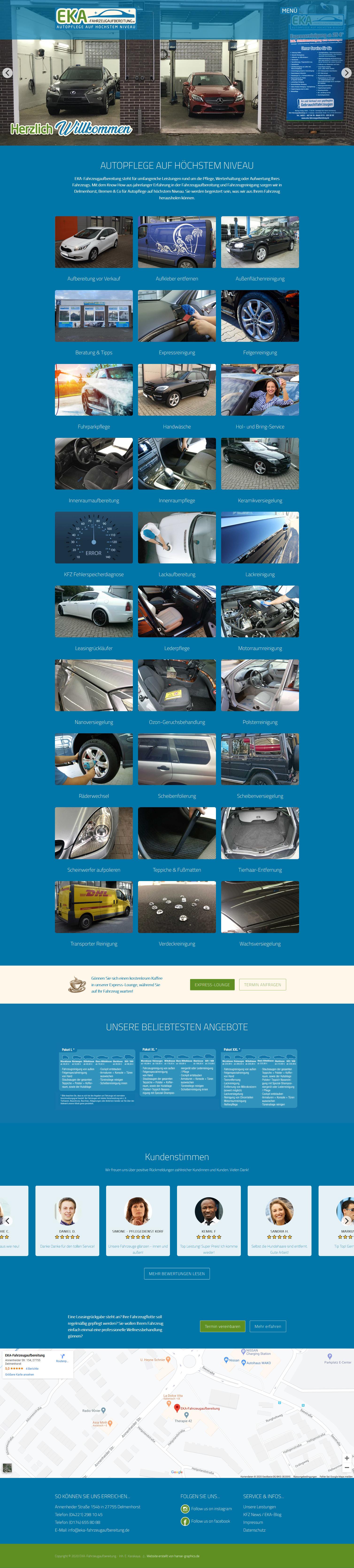 EKA Fahrzeugaufbereitung