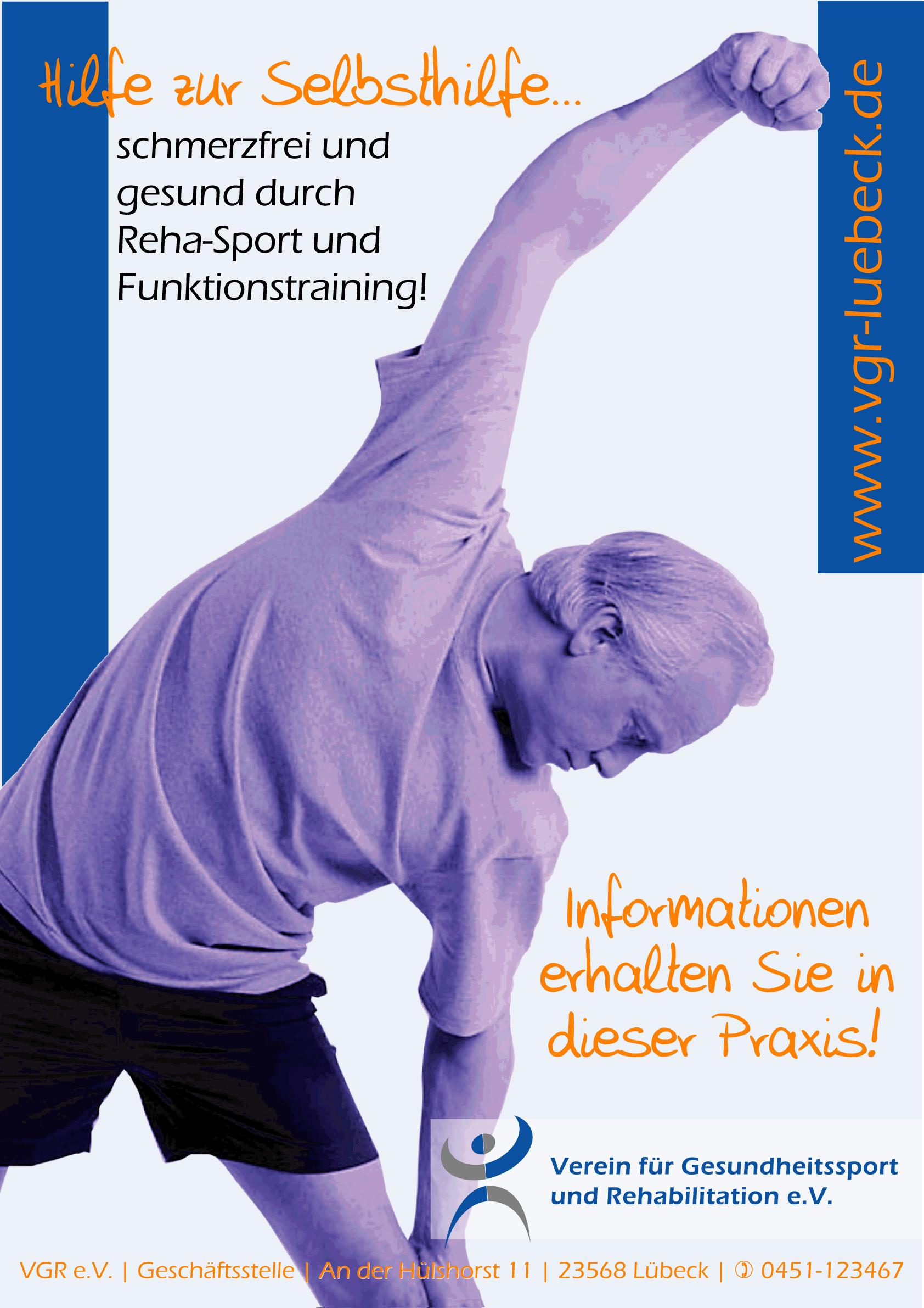 Plakat Gesundheitssport