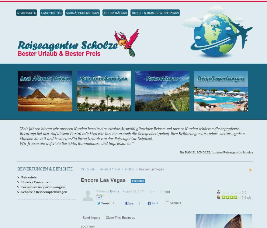 Reiseagentur Scholze